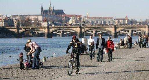 Praga in bici