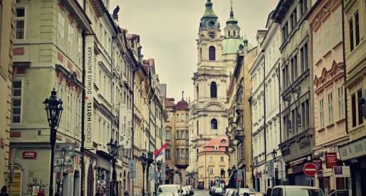 A Praga in macchina