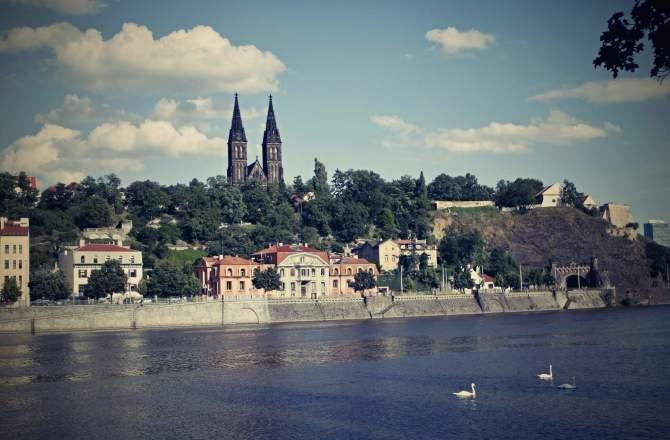 Il castello di Vysehrad, la zona più antica di Praga.