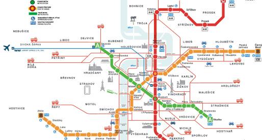 Metropolitana a Praga