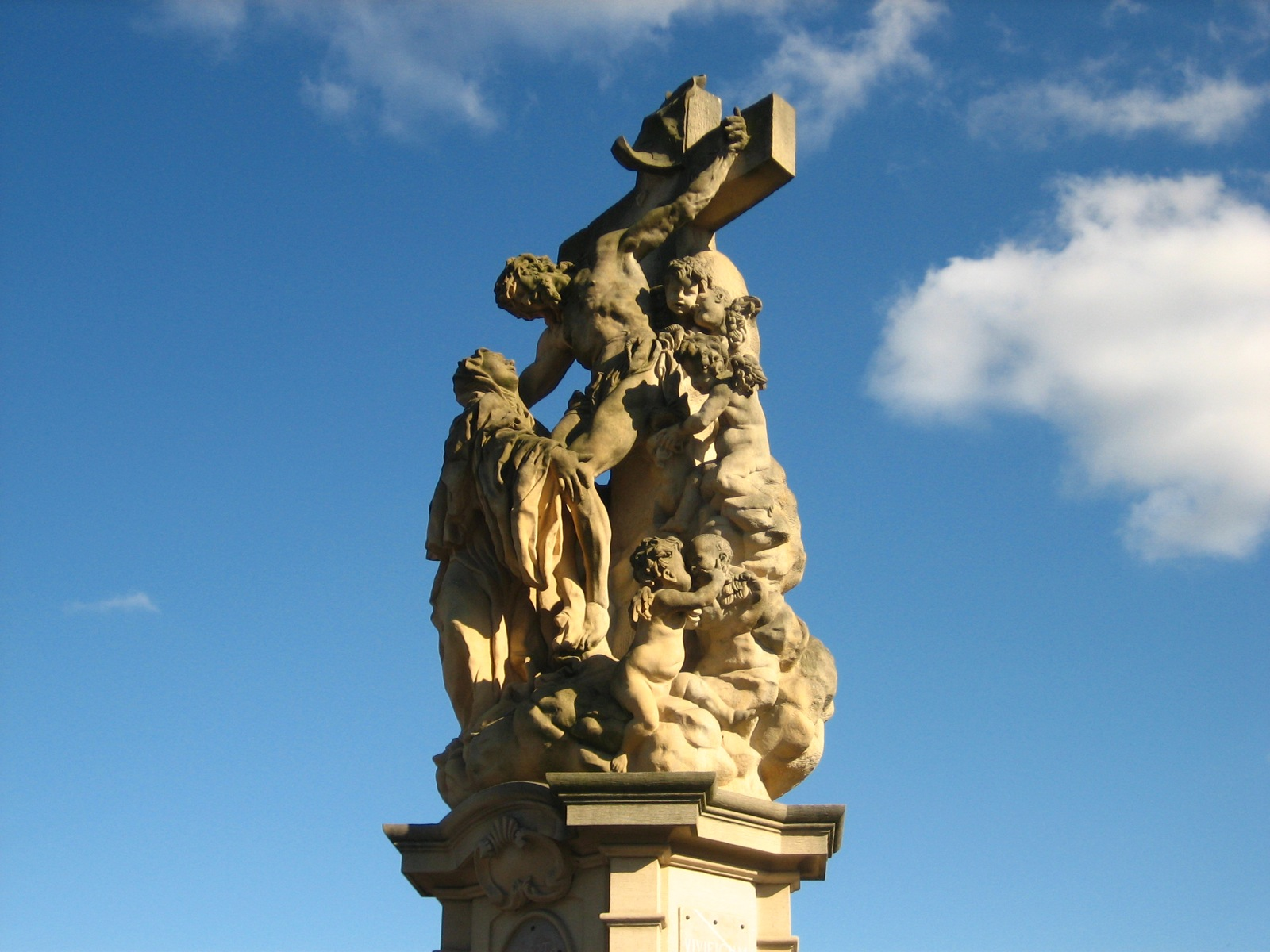 Santa Lutgarda abbraccia Cristo a Praga.