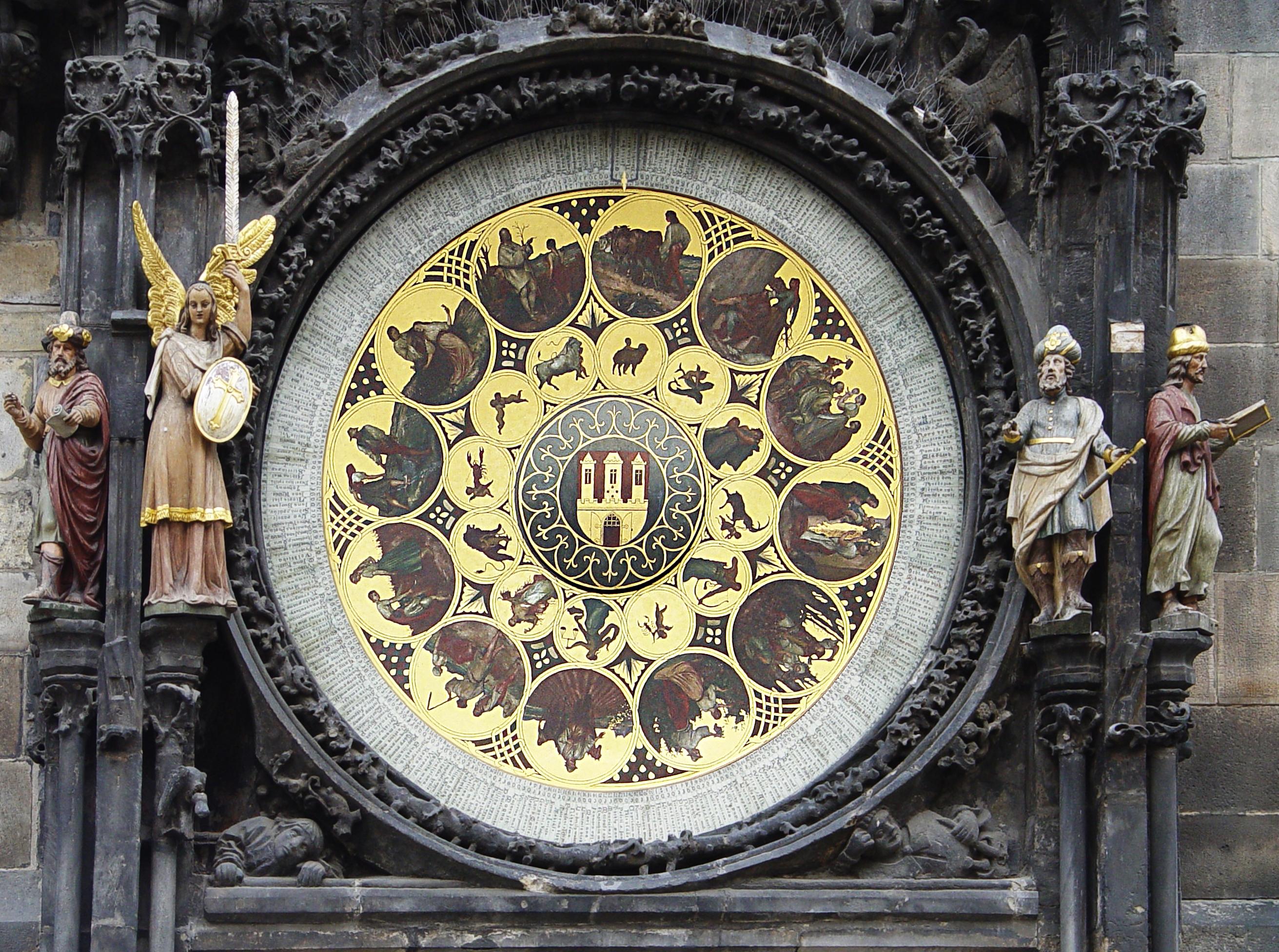 Calendario dell'orologio astronomico di Praga