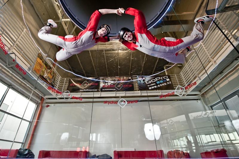 skydiving arena