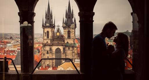 Praga romantica: tramonti, stelle e giardini segreti.