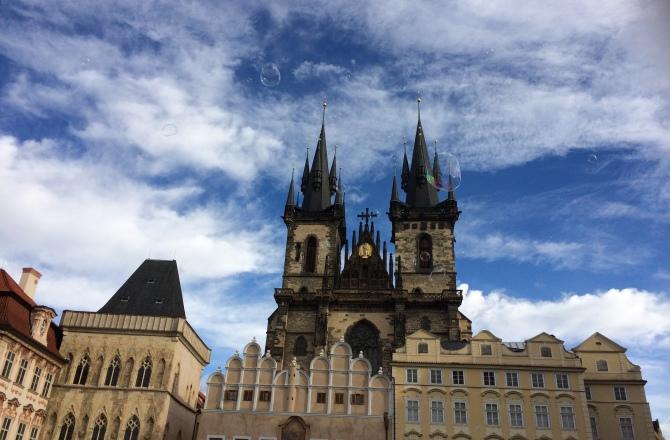 Santa Maria di Tyn, la chiesa più misteriosa di Praga.