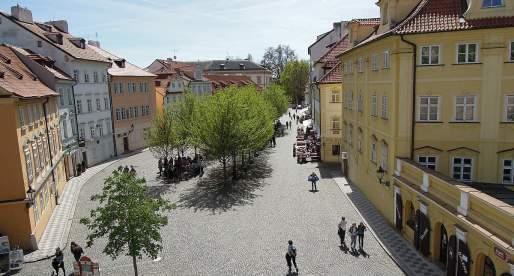 Kampa: un'isola nel cuore di Praga.