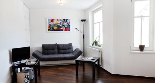 Appartamento a Zizkov: a sole tre fermate di metro dal centro