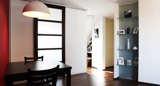 Appena fuori dal centro di Praga, gli appartamenti sono economici e funzionali