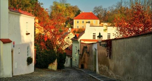 Novy svet si colora con le stagioni.