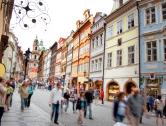 La vita a Praga, la città europea con la più bassa disoccupazione.
