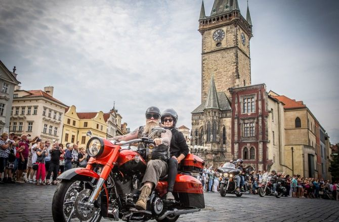115esimo compleanno di Harley Davidson a Praga: 5 Luglio 2018