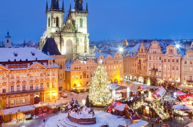 Mercatini di Natale a Praga: Dicembre 2018.