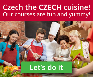 Learn how to cook traditional Czech meals in a fun and interactive way