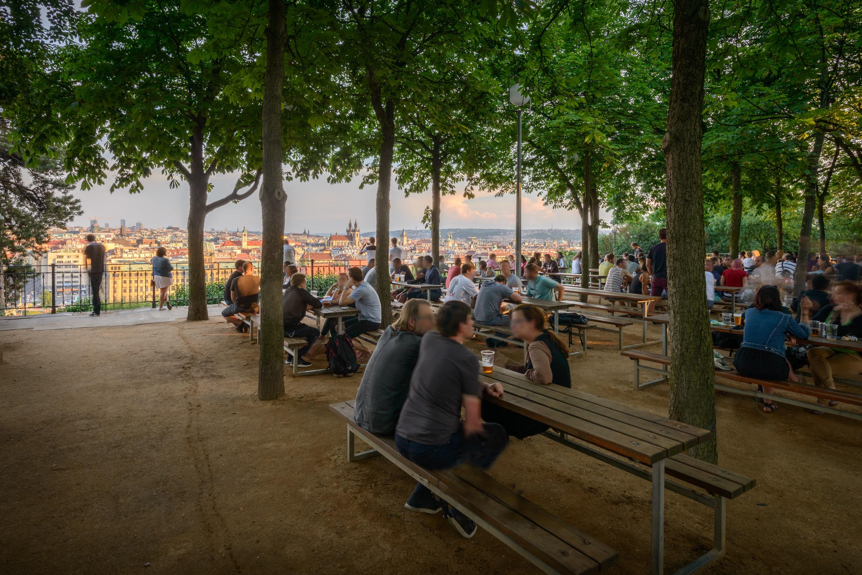 Estate a Praga parco di letna