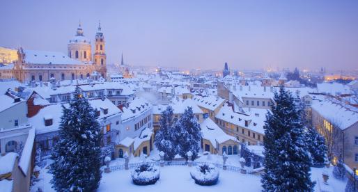 La cena di Natale 2019 a Praga.